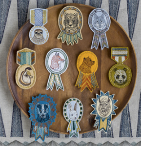 Animal Medals & Badges